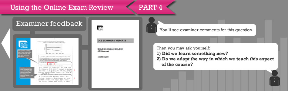 Using the OER Part 4 Slide - Examiner Feedback
